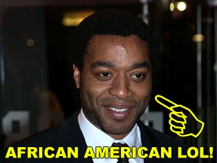 Note: there is no 'Arial African American' font, so I settled for the more oppressive 'Arial Black.'
