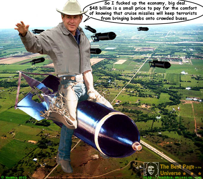 http://www.thebestpageintheuniverse.net/images/bush_riding10.jpg