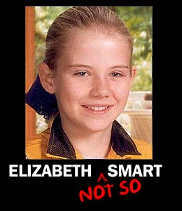 Things ELIZABETH SMART could have done to escape her captors.