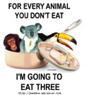 Sponsor a vegetarian